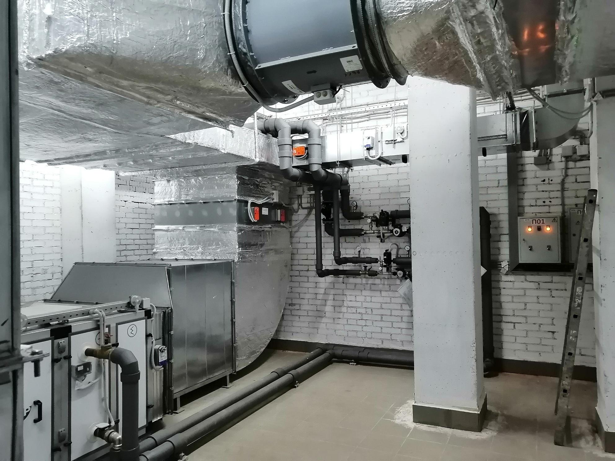обследование вентиляционной системы