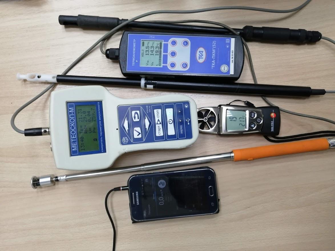 термоанемометры